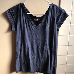 Hollister V Neck Basic Tee